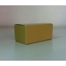 100 Cajas de regalo crema. 7x3x3 cms.