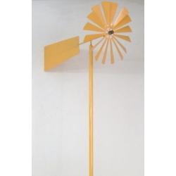 Molino de viento amarillo. 1 m.