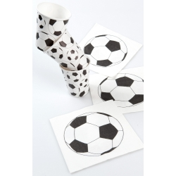 Servilleta de papel. Football. C/20 uds