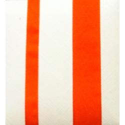 40 m de Cinta de regalo en algodón color naranja. Varios anchos