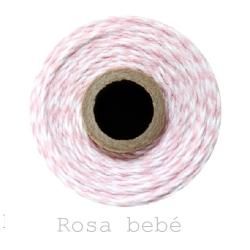 6 Baker´s twine GRUESO, cordón regalo de 100 m.