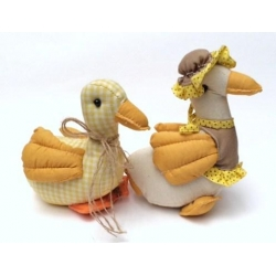 8 Patos de trapo. Modelos surtidos
