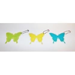 72 LLaveros mariposa. Colores surtidos