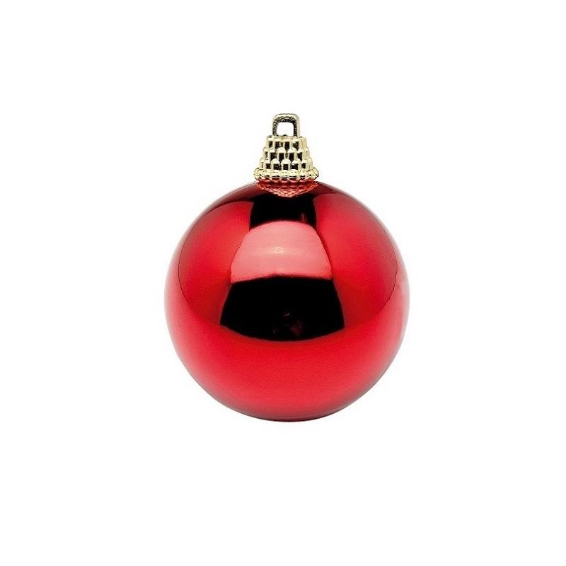 48 bolas de navidad rojas 6 cms - Bolas de navidad rojas ...