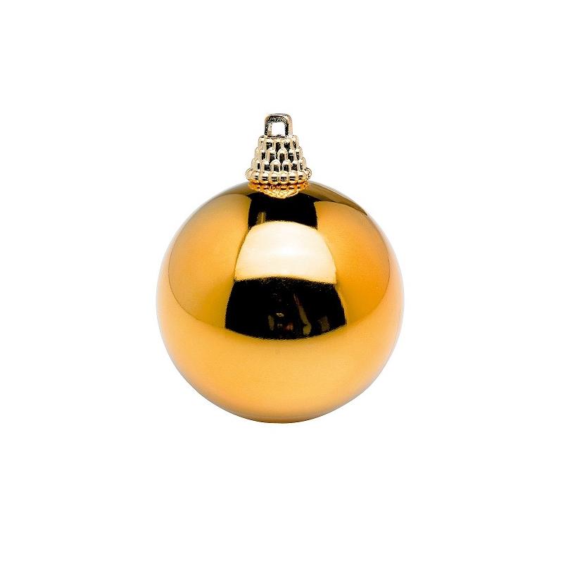 48 bolas de navidad doradas 6 cms - Bolas de navidad doradas ...