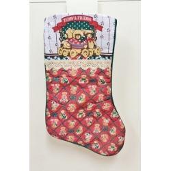 12 Calcetines-bota de Navidad, 2 modelos surtidos