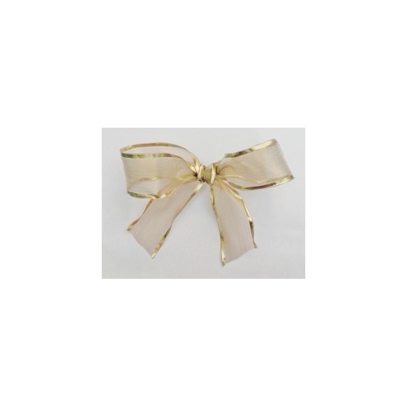 Cinta de regalo oro 38mmx25m - Cinta para regalo ...