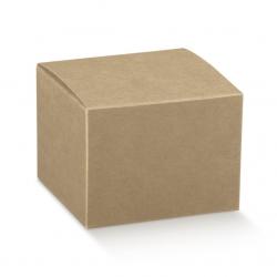 200 Cajas de regalo kraft 10x10x10 cms.