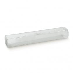 100 Cajas transparentes. 24x4x3 cms