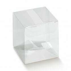 200 Cajas de regalo transparentes 8X8X6 cms.