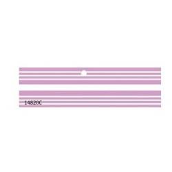 200 Etiquetas colgantes, rayas lila