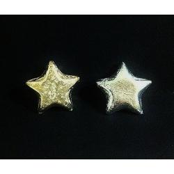 Estrella adhesivac/25 uds. 20 mm. 2 colores
